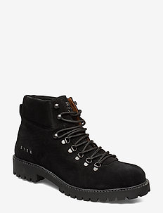 Chris Boots - veter schoenen - black