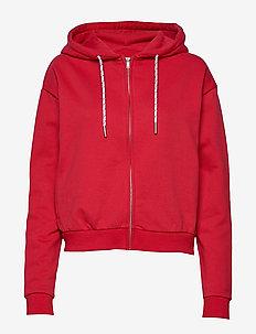 Malaga Zip Hood - RED