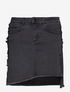 Biarritz Denim Skirt - DARK GREY