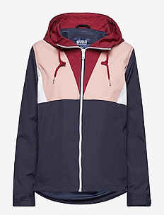 Dublin Jacket - NAVY/BURGUNDY/DUSTY PINK