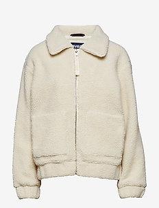 Rome Pile Jacket - OFFWHITE