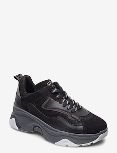 Robyn - chunky sneakers - black/grey