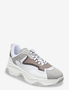Robyn - chunky sneakers - grey/white
