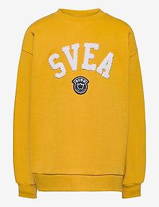 Svea Logo Jr Crew - sweatshirts - yellow