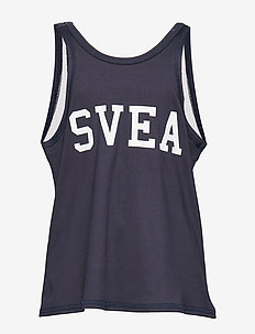 2 COL JR SINGLET - NAVY