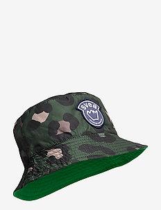 K. Bucket Hat - sun hats - green leo