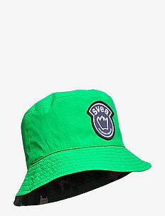 K. Bucket Hat - sun hats - vivid green