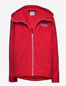 Arild junior jacket - windbreaker - red