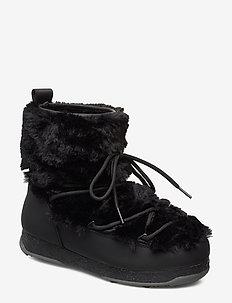 Snowflake Fur - BLACK