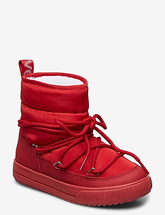 Snowflake JR - winter boots - red