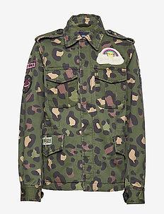 K. Army Jacket - GREEN LEO