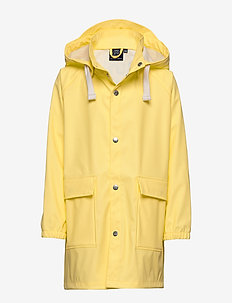 K. Love Print Rain Jacket - jackets - lemon