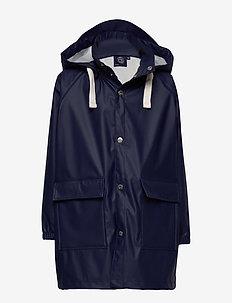 K. Love Print Rain Jacket - jassen - navy