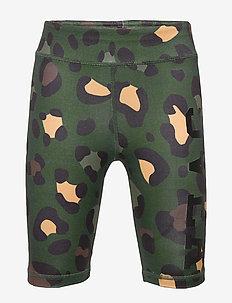 K. Leo Biker Shorts - szorty - green leo