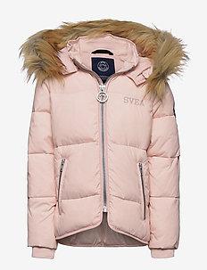 K. Short Slim Jacket - gewatteerde jassen - pale pink