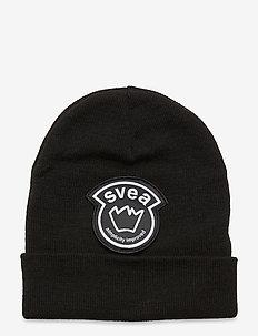 K. Big Badge Hat - mützen - black