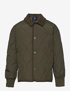 K. Quilted Shirt Jacket - gewatteerde jassen - army green