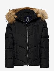 K. New Whitehorse Jacket - insulated jackets - black
