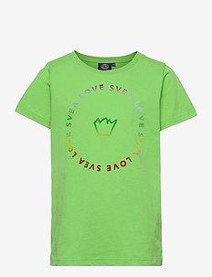 K. Love Circle Tee - korte mouwen - green