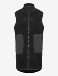 W. Pile Vest - toppaliivit - black