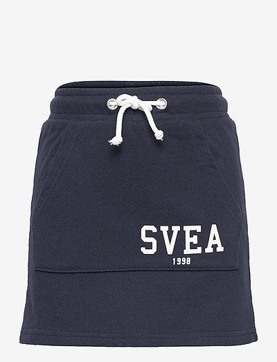 K. Girly Sweat Skirt - röcke - navy