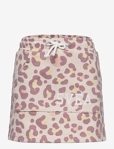 K. Girly Sweat Skirt - röcke - nude leo