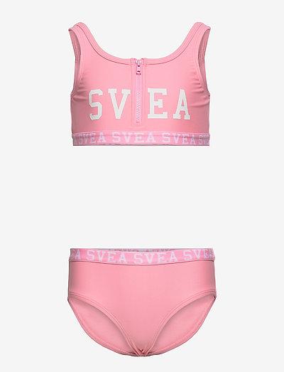 K. Sporty Zip Bikini - bademode - pink
