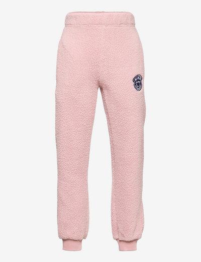 K. Pile Pants - sporthosen - berry