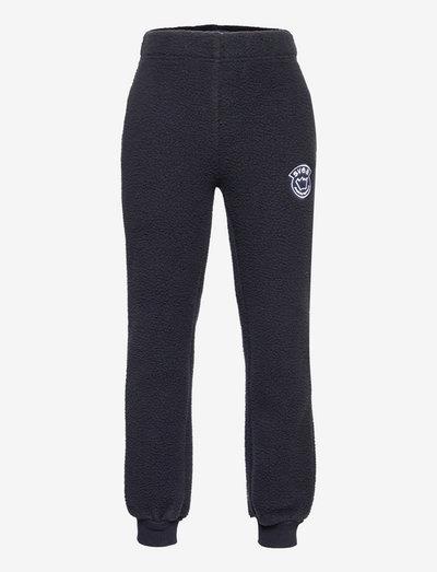 K. Pile Pants - sporthosen - navy