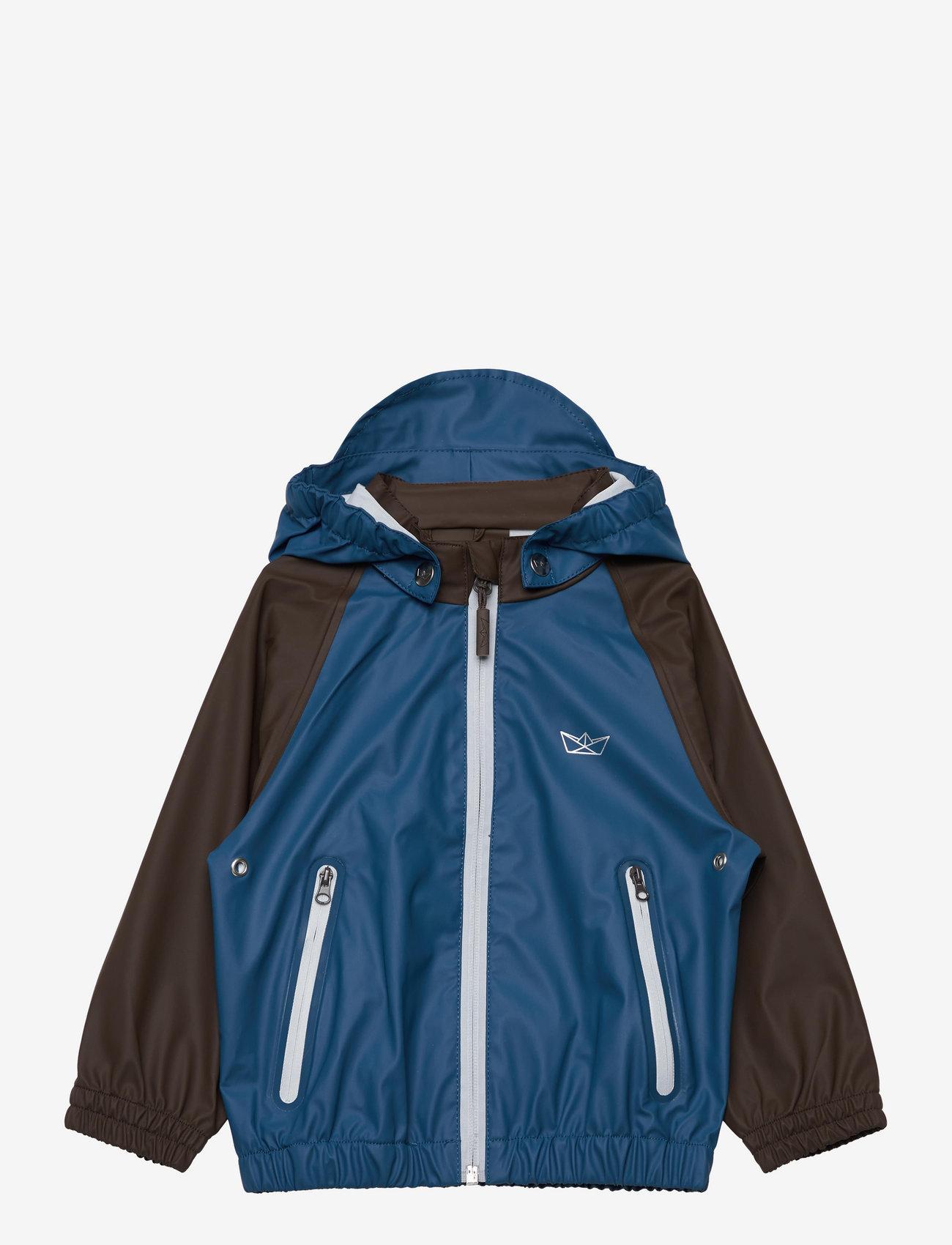 SWAYS - Crew Jacket - jassen - 60 faded blue/brown - 0