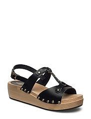 Rivet Sandal - BLACK