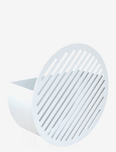DIAGONAL wallbasket - hylder - white