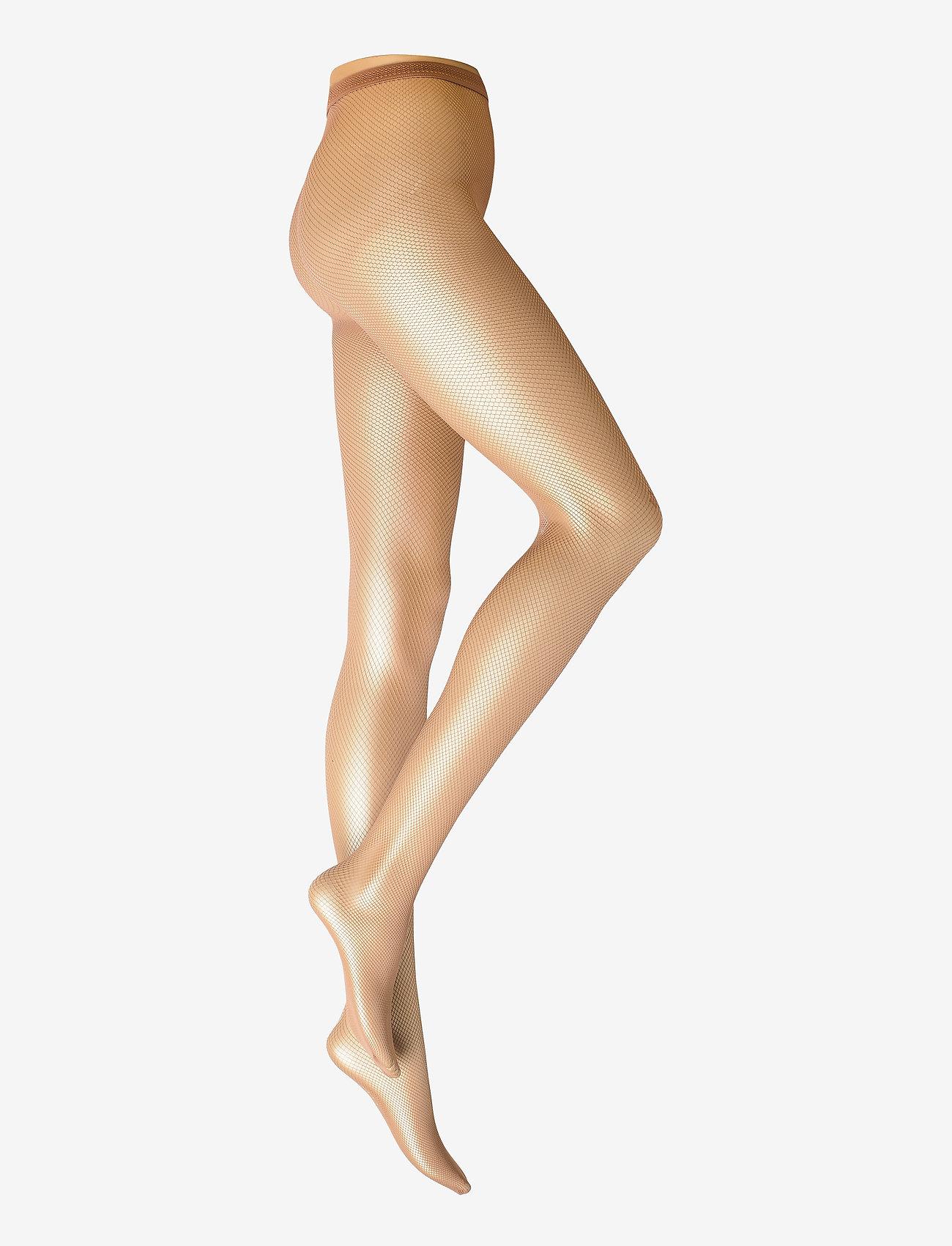 Swedish Stockings - Liv net tights micro net - panty's - nude - 0