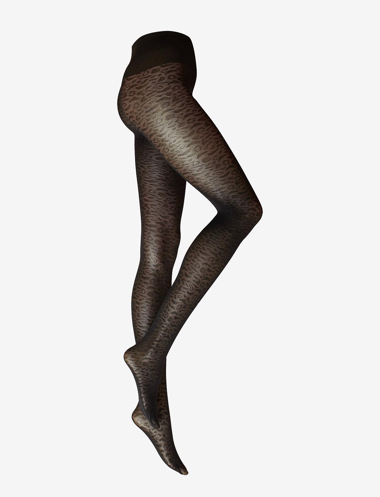 Emma Leopard Tights