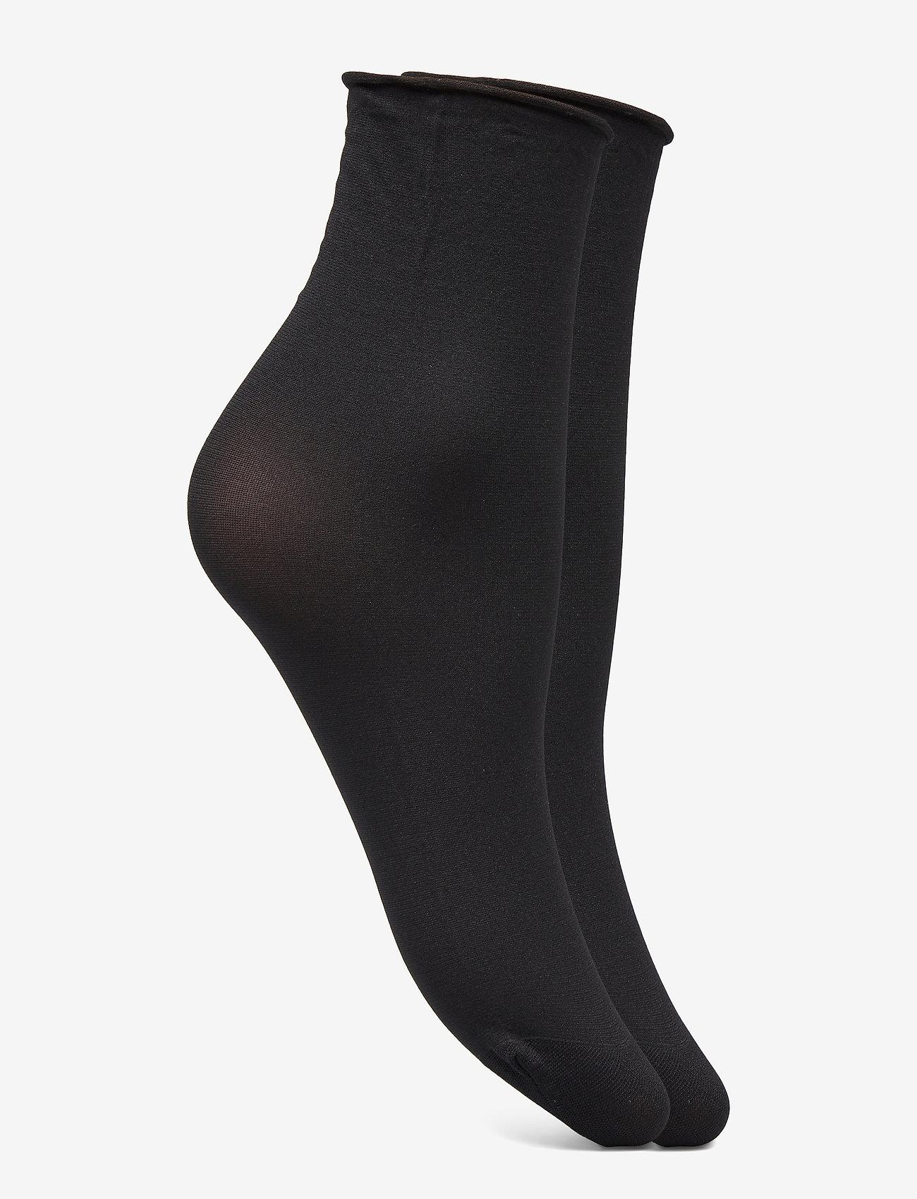 Swedish Stockings - Judith 2-pack 30 denier - socken - black/black - 1