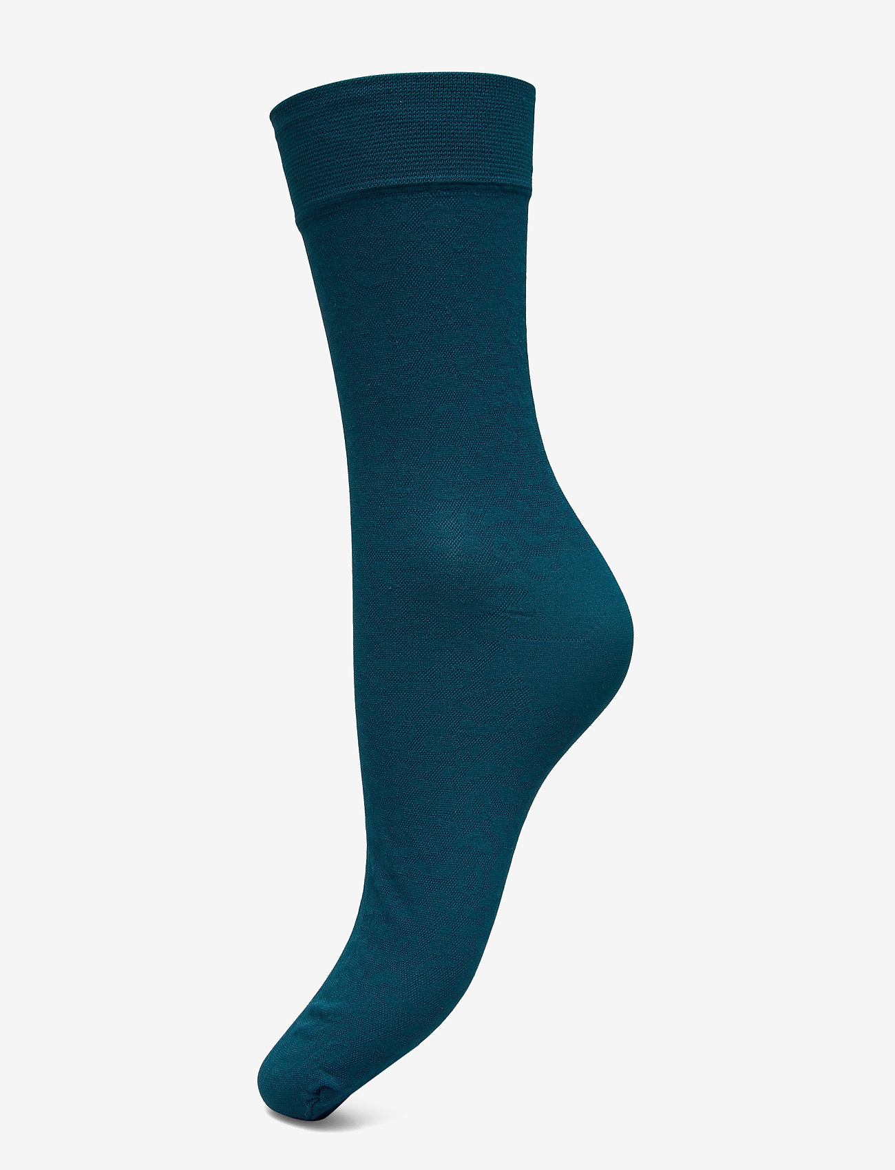 Swedish Stockings - Emma leopard sock - socken - petroleum - 0