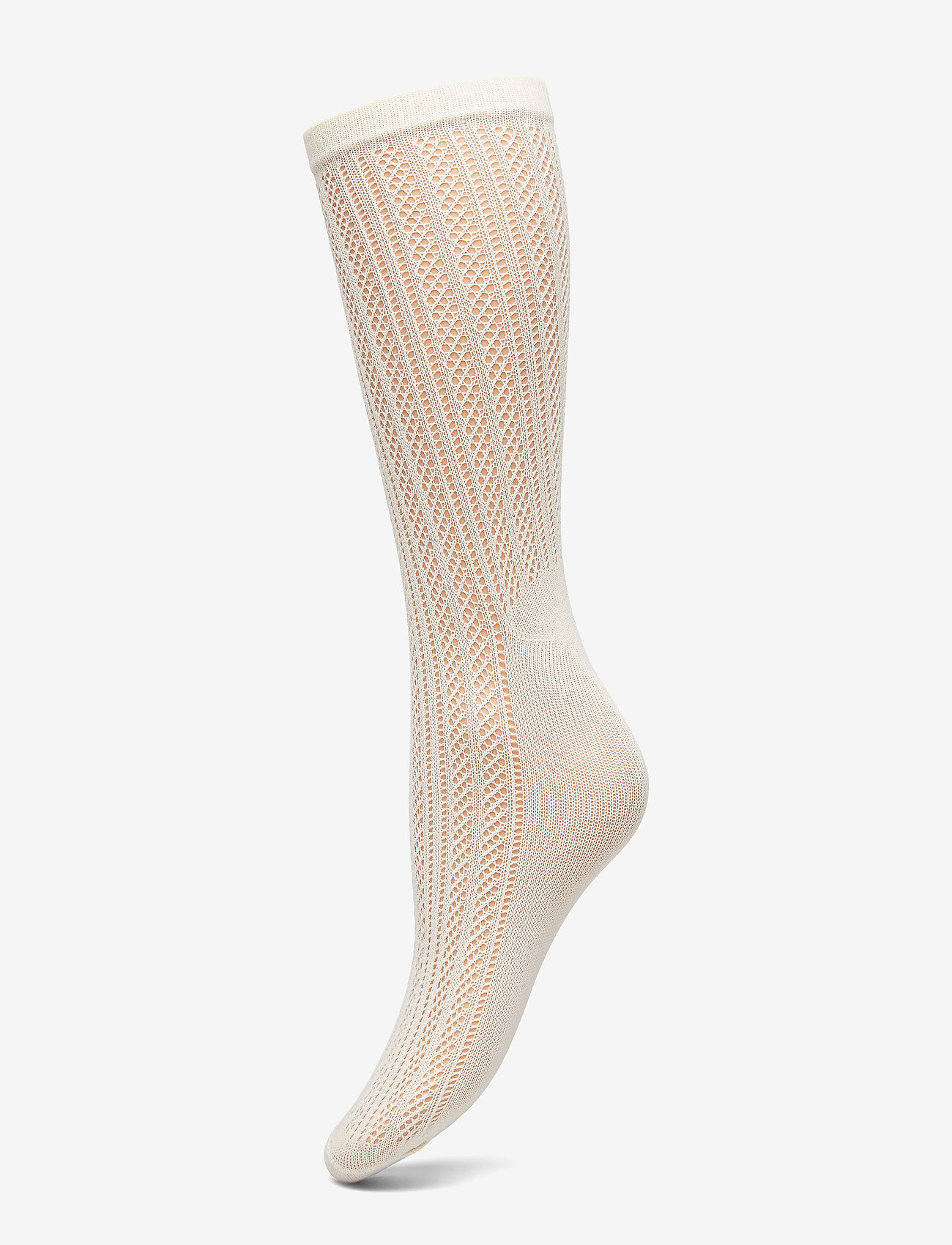 Swedish Stockings - Klara knit sock - socken - ivory - 0