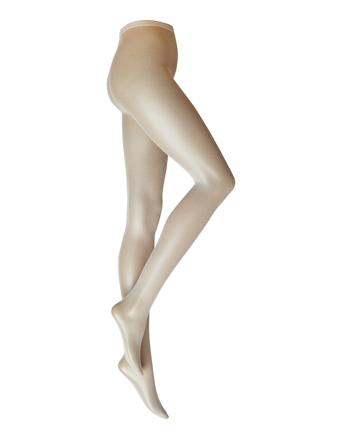 Swedish Stockings ELVIRA NET TIGHTS - IVORY