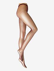Swedish Stockings - Liv net tights micro net - panty's - wine - 0