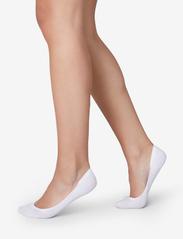 Swedish Stockings - Ida Premium Steps 2-pack 70 den - füßlinge - white - 0