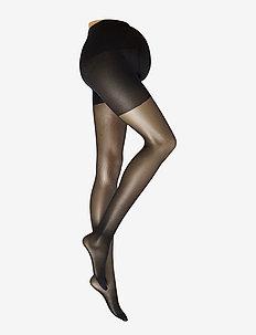 AMANDA MATERNITY TIGHTS - panty's - black