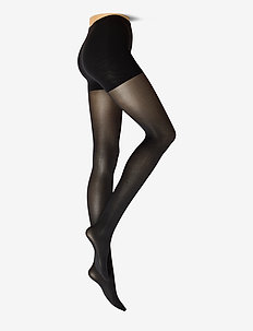 NORA CONTROL TOP TIGHTS - strømpebukser - black