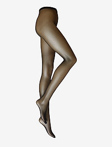 ELVIRA NET TIGHTS - BLACK
