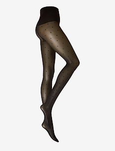 Doris Dots tights 40D - BLACK