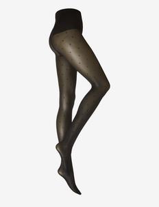 Doris Dots tights 40D - rajstopy - black