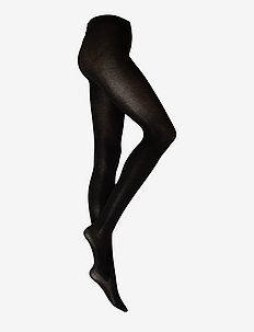 Alice Premium cashmere tights - strumpbyxor - black