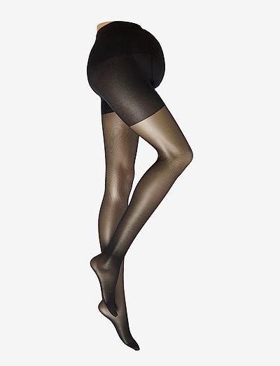 AMANDA MATERNITY TIGHTS - ondergoed - black