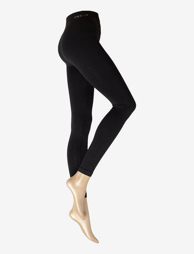 Gerda Premium Leggings 180 den - alusvaatteet - black