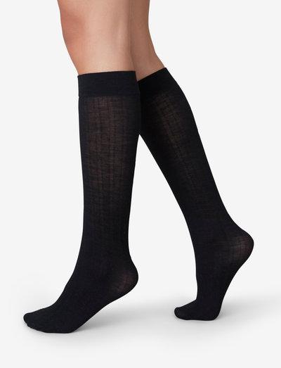 Freja knee-high - kniekousen - black