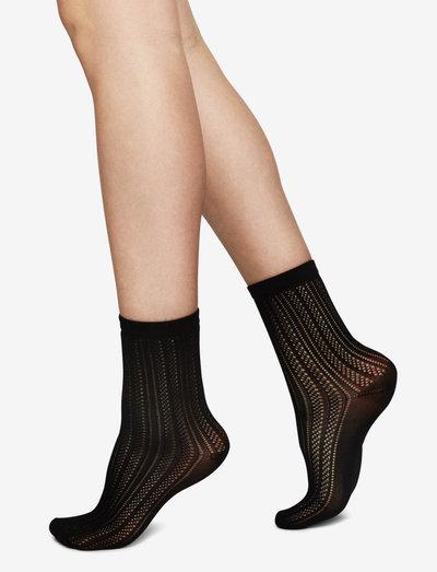 Klara knit sock - ondergoed - black